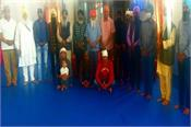 italy  baba bir singh conducted a religious function