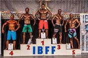 sandeep kumar  bodybuilding competition  gold medal  world champion