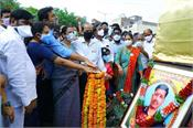 statue of colonel babu martyred in galwan valley unveiled in suryapet