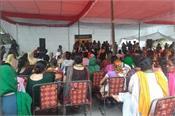 women farmers organize kisan sansad at jantar mantar