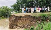 ghaggar river  farmers  land