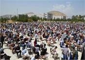5000 afghan youngsters appear for military academy test despite war situation