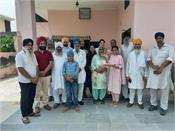 happiness at the home of gurjeet kaur