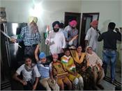 happy atmosphere at gurjeet kaur s house