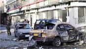 eight killed in blast targeting defense minister in afghanistan