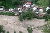 cloudburst in central kashmir  affected families rescued