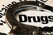 police arrest 10 with drugs