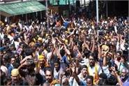 the last day of entering sabarimala temple