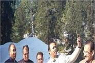 himachal s courtesy lamps of snow cover