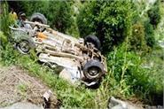 car fall into ditch death of 2 one injured