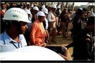 cm yogi reached gorakhpur inspected the pipriach sugar mill