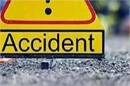 death of 2 in collision betwee trcuk and bike