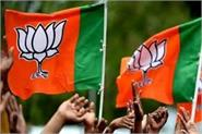 sixth list of bjp released for telangana