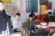 absence facilities  children resource room illiterate retarded
