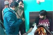 tej pratap health poor in between tour of ranchi