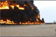libyan oil pipeline attacked by terrorist