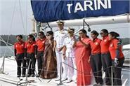 ins tarin reached goa harbor defense minister welcomes welcome