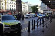 london s chaired cross station vacated after bomb threat resumed operations