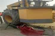 in amethi the teenager died due to roller graft another injured
