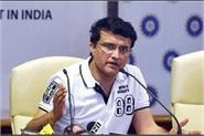 sourav ganguly not happy with indian team management