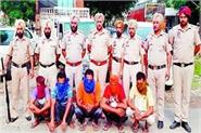 illegal liquor recovered 5 arrested