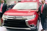 mitsubishi outlander launched in india with new features