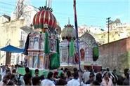 shia not sunni community celebrates here muharram