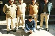 bike rider arrested with 1 121 kg hashish
