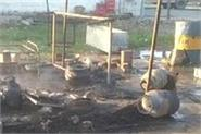 blast in cylinders inside the dhaba