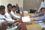congress nominee from hissar lok sabha bhishnoi filed nomination