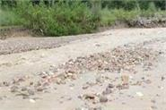 village craved for road facility