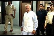 case filed against chief minister manohar lal in  neck will cut  case