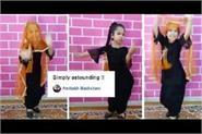 jahnvi dance video being popular big b praised