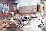 elderly woman and child died due to roof collapse