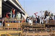 after singhu and tikari border farmers camped at ghazipur border