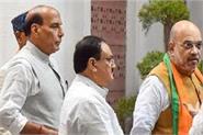 high level meeting shah rajnath present at bjp president jp nadda s house