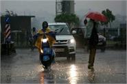 rain in many areas including delhi