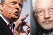 trump offered julian assange pardon for covering up russian