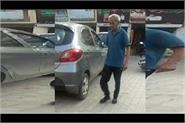 suspected corona person roaming the streets in public video viral