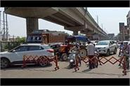 police again strictness on delhi haryana border