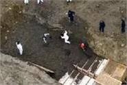 more bodies are being buried in trenches