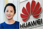 china told canada release cfo of huawei