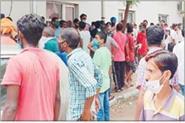 hospital employee said give 500 rupees and take home address medicine