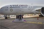 first for indian carriers onboard wifi on vistara dreamliners