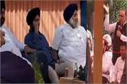 sukhbir s visit own worker told the truth people applauded wholeheartedly