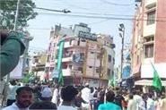 controversy in dhar over changing the route of eid procession