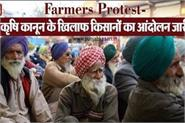 protest of farmers against agricultural law continues