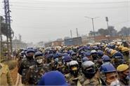 security arrangements regarding farmers  movement and republic day