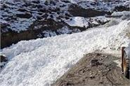 avalanche at shakoli in lahaul spiti
