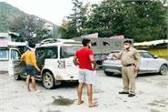 7 tourists reached manali without covid pass